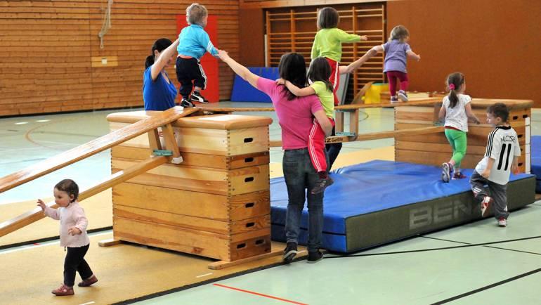 Kindersportschule hat wieder begonnen
