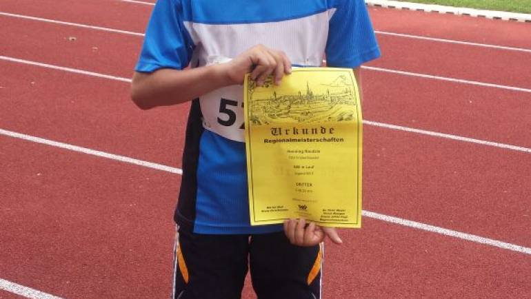 Bronzemedaille bei Regionalmeisterschaften