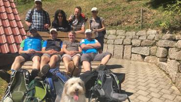 4-Tages-Wanderung Mai 2018