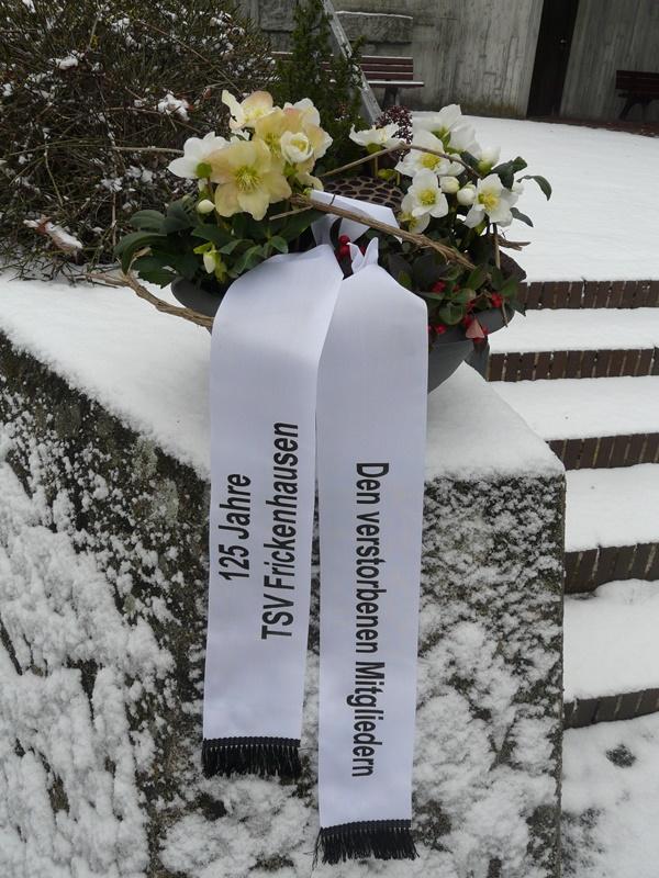 TSV Frickenhausen gedenkt den verstorbenen Mitgliedern