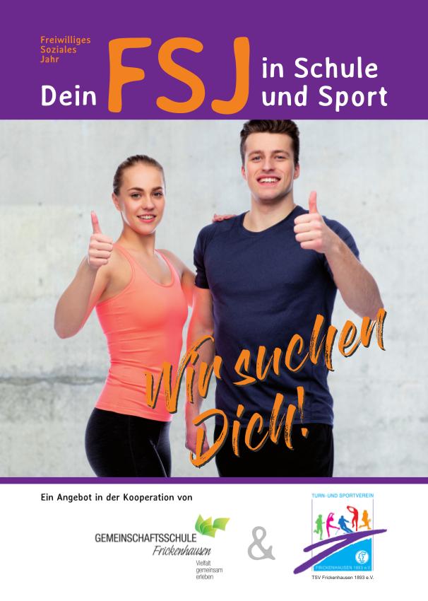 FSJ in Schule und Sport – Wir suchen Dich!