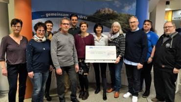 4.440 Euro für Vereine in Frickenhausen, Linsenhofen und Tischardt