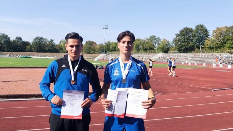 Württembergischen Meisterschaften der U16 in Stuttgart   –  GOLD – SILBER – BRONZE