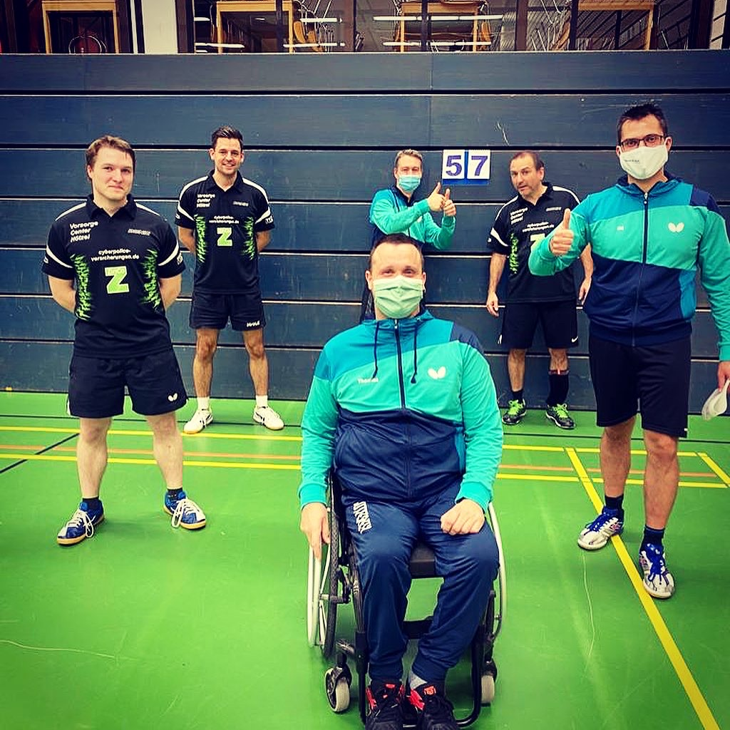 Tischtennis Frickenhausen übernimmt Tabellenspitze