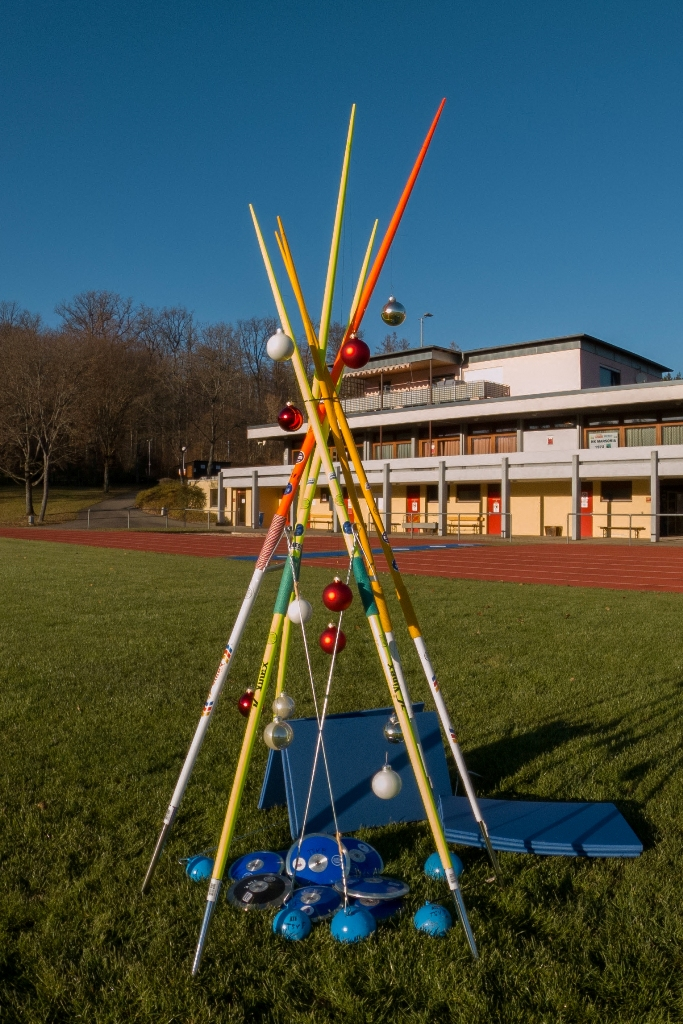 Neue Wurfgeräte für die Leichtathletik