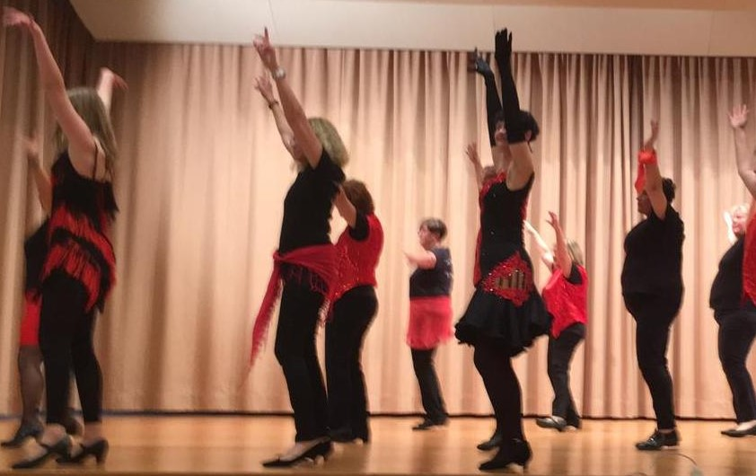 Dance Challenge Modern Line Dance